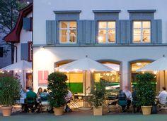 Restaurant Besenstiel Basel, Restaurant, Drink, Mansions, House Styles, Eat, Outdoor Decor, Home Decor, Beverage