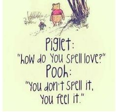 Winnie the Pooh quote cute ^.^