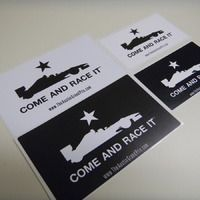 COME AND RACE IT - VinylStickers - Products - The Austin Grand Prix