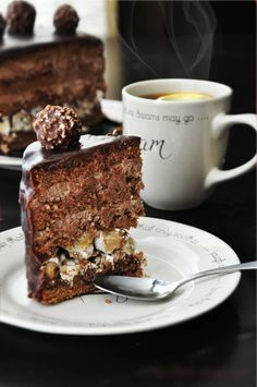 VK is the largest European social network with more than 100 million active users. Bakery Cakes, Food Cakes, Cupcake Cakes, Chocolate Hazelnut Cake, Café Chocolate, Ferrero Rocher, Sweet Recipes, Cake Recipes, Dessert Recipes
