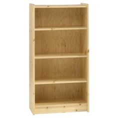 #Kids #BedroomFurniture -  Natural tall #bookcase for kids