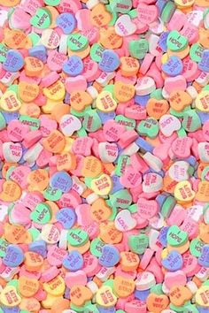 One of the rarest of Valentine Candy treats, Necco Large Conversation Hearts are a big twist on the classic heart-shaped Valentine's Day candy. My Funny Valentine, Valentines Day Treats, Valentine Day Crafts, Valentine Hearts, Valentine Theme, Valentines Day Background, Valentine Ideas, Cute Wallpapers, Wallpaper Backgrounds