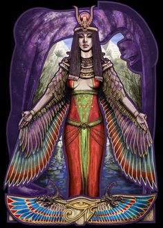 I walk in harmony, heaven in one hand, earth in the other. I am the knot where two worlds meet. Red magic courses through me like the blood of Isis, magic of magic, spirit of spirit. I am proof of the power of gods. I am water and dust walking. -- The Knot of Isis, Egyptian Book of the Dead