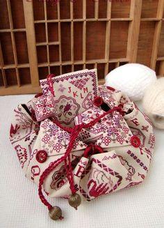 Уголок весёлой тёти: Складные шкатулочки для рукоделия