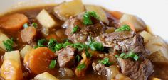A heart-warming one pot dish. You can use whatever is on offer in the lamb department including cutlets/shoulder,scrag end or neck chump chops.    https://easyrecipes.kitchen/recipe/irish-stew/  #HealthySoup #IrishStew