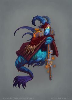 ALLODS ONLINE Creatures and Characters Concept Art, Anylia Larmina on ArtStation at https://www.artstation.com/artwork/allods-online-creatures-and-characters-concept-art-5b9423be-d6cc-4300-9c79-08a2cc33c7b1