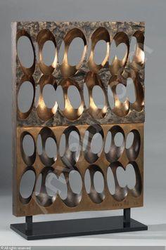 TOYOFUKU Tomonori, *1925 (Japan). Senza titolo in bronze sold by Farsettiarte, Prato, on Friday, November 27, 2009