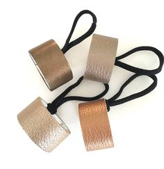 your choice of colour Stunning metallic leather by odijewellery