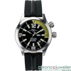 Ball Watch Engineer Master II Diver Chronometer DM1022A-P1CA-BKYE Chronometer watch with rotating inner bezel