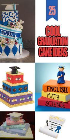 Cool Graduation Cake Ideas!