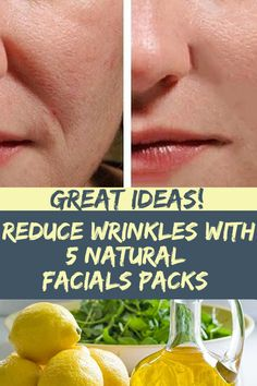 Reduce Wrinkles with 5 Natural Facials Packs Natural Face Pack, Natural Facial, Natural Oils, Natural Health, Home Health Remedies, Holistic Remedies, Herbal Remedies, Natural Remedies For Bronchitis, Natural Beauty Remedies