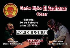 Concierto POP DE LOS 80 - Centro Hípico El Azafranar, Cózar