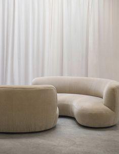 via heavywait - modern design architecture interior design home decor & Canapé Design, House Design, Paris Design, Modern Design, Sofa Furniture, Furniture Design, Cheap Furniture, Minimalist Interior, Luxury Living