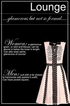 lounge suit dress code