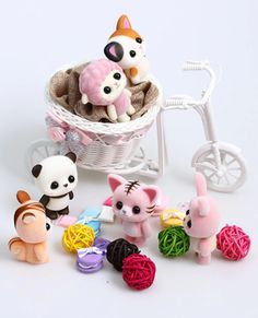 An adorable animal doll that will make you squeal with joy. Shes small and cute, and will brighten your day! available on our store! Best Gifts For Girls, Christmas Gifts For Girls, Christmas Fun, Little Girl Toys, Toys For Girls, Little Girls, Little Girl Pictures, Cheap Dolls, Kawaii Doll