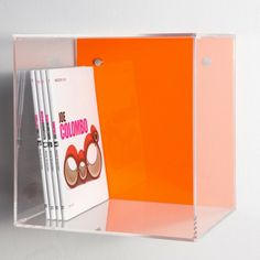 Acrylic wall cube shelves 30x30x20 #plexiglass #acrylic #cube #home #decor #design #designtrasparente #color #colorful