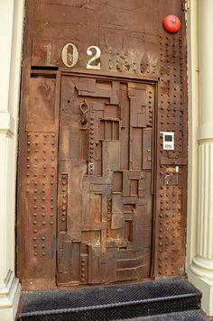 Steampunk door | SoHo, New York, NY | Adam Fagen | Flickr