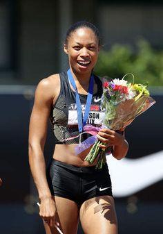 Allyson Felix.....Team USA...Track and Field