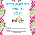 This is a bundled comprehensive document to help you keep track of when you teach each of the Common Core Standards for KINDERGARTEN through FIFTH ...Great for Reading specialists and intervention tracking