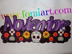 Letrero del Día de Muertos (México, 2 de Noviembre) | Fomiart