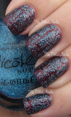 The PolishAholic: Nicole by OPI New Texture Coat Swatches  fall nails