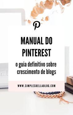 Social Marketing, Digital Marketing, Pinterest Gratis, Blog Sites, Pinterest Marketing, Manual, About Me Blog, Tips, Inspiration
