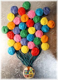 Can I do this up the side of a cake?  Or maybe a really neat cupcake tower?!