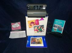 Vintage Polaroid Instant Camera Spectra AF with Quintic Lens 10/125 mm Tested #Polaroid