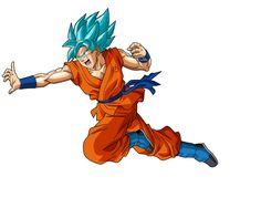 Goku SSGSS Run by SaoDVD on @DeviantArt