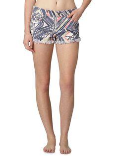 Roxy Breaking Printed Shorts $45