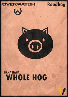 Overwatch Roadhog - Whole Hog by FALLENV3GAS on DeviantArt