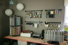 crafty organization at it's finest (@Morgan Novak's room)