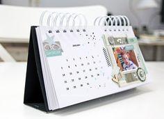 MME desktop calendar by Katharina Frei
