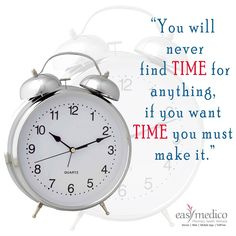 #EMsutra Time is our most precious resource. Effective time management starts with clear vision and goals #timemanagement