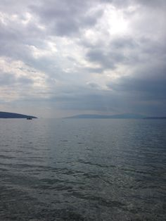 A cloudy view from bodrum turkey