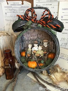 Hi Everyone!   I have a tutorial over on the Tim Holtz blog  today!  Hope you will stop by to see how I made this Halloween Assemblage Clock...