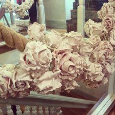 Plaster rose garlands grace the stairs... #jigsawpressday