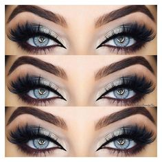 33 Best Ideas of Makeup for Blue Eyes ❤ liked on Polyvore featuring beauty products, makeup and eye makeup