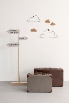 The clouds for a kids room are adorable!  Zara Mini lookbook October 2013 – Husligheter.se