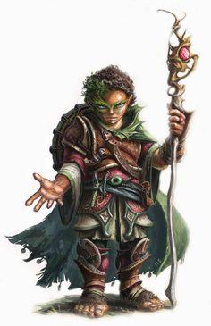 Than é o Mestre das Folhas e líder do Conselho Druidico dos Herossarins. Portador da Energia Primordial da Natureza, Than é um halfling trans é um dos três únicos druidas conhecidos na história por terem abandonado as Folhas Escuras. Seu poder é assombroso e ele se tornou, recentemente, um deus terreno.