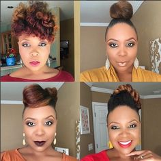 #HairInspiration - @tjluvsbeingnatural shows off the versatility of her #naturalhair   We just love the #fab & #glam looks on this beauty!    #OYINFallinlove #naturalista #naturalhair #naturalhairstyles #naturalhairrocks #teamnatural #naturalhaircommunity #blackgirlmagic #beauty #hair #wcw   #repost @tjluvsbeingnatural Lots of fun this week. Who knows what next week will bring.