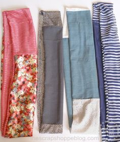 The Scrap Shoppe: DIY Infinity Scarves - A Perfect Sewing Project for Beginners!
