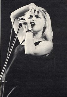 Debbie Harry in International Music Magazine 1978.