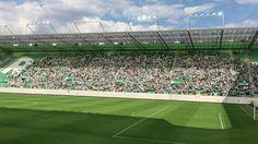 So geht Tribüne am Mitgliedertag - Großen Respekt an alle Rapidlerinnen und Rapidler! Gemeinsam sind wir der SK Rapid Wien. Soccer, Respect, Life, Football, Soccer Ball, Futbol
