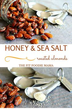 Meatless Monday: Nektar Naturals Honey + Sea Salt Roasted Almonds Recipe { Less than 25 Minutes, Easy, Gluten Free, Healthy Snack, Football Snack} | The Fit Foodie Mama
