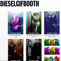 DIESELGIFBOOTH - Make your gif in your style & share it. Simple.