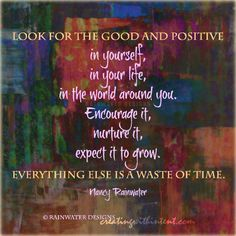 Look for good and positive.. by @rainwatrdesigns MT @ribbonsofpeace @ShawneTV   #WUVIP Riding the #JoYTrain