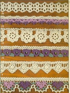 Crochet edging by Sylvia B.