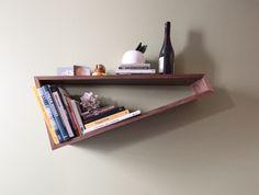 Oblique shelf
