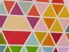 Accent Wall Ideas You'll Surely Wish to Try This at Home - Wandbehandlung Tape Painting, Painting For Kids, House Painting, Geometric Wall Paint, Geometric Painting, Kids Decor, Home Decor, Decorating With Pictures, Decorating Ideas